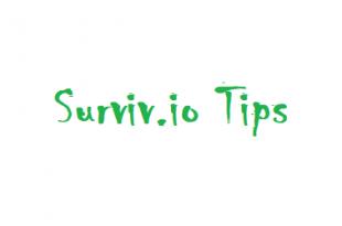 Surviv.io Tips